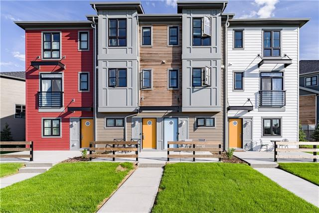 All the UPGRADES! Check out this 2017 built immaculate townhome in desirable Walden. With 2 master bedrooms, 3 bathrooms, 9-Foot Ceilings, and Tandem DOUBLE GARAGE. The Kitchen features Quartz,soft close cabinets, ceramic tile flooring and GAS RANGE STOVE. Rich hardwood and plenty of natural light flood the main floor, double sliding glass doors lead to your SOUTH facing balcony! The bedrooms are spacious with ample closet space and en-suite bathrooms. This home is also equipped with a hi-tech home security system. Great area, lots of nearby parks and shopping, Call now to book a showing!