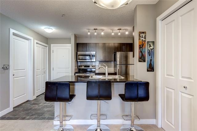 Open house this Saturday Sept. 1, 2018 from 12:00-2:00pm.Join us at this beautiful modern 3 bedroom unit in perfect condition for the next sweet family, young professional or your next great holding property. This condo is conveniently located just minutes away from downtown, walking distance to schools, and shopping nearby for all of your convenience. Inside you will find a comfortable sized kitchen complete with stainless steel appliances, granite counter tops, and a beautiful ceramic tiled backsplash with a storage nook just off of the kitchen along with in-suite laundry.  Enjoy the sunshine from your large covered balcony, ready for your summer BBQ's and make this rare and affordable 3 bedroom opportunity your own. Priced aggressively to sell! This 3 bedroom is the lowest you will find in this area and also includes 2 underground heated parking spots!. Book your showing in Today before it's gone! This one's a Must See!