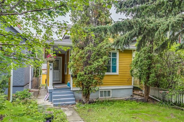SPUNKY little 1.5 storey home with upper/lower suites in Crescent Heights just 5 minutes to downtown - Home is fairly original and gives off good vibes as it's in a great location! 3 bedroom suite up gets $1200/mo and vacant/illegal 1 bedroom down gets $700/mo. Each suite has it's own laundry, there's an updated Maple kitchen on the main and a newish one down as well plus furnace and electrical have some updates in the past decade or so. There's a tired, oldish single and a half garage out back to store your bikes, mowers, etc or knock 'er down and build a new one! Don't pass up this opportunity to own a great little revenue property brimming with potential that could someday be the location of your DREAM HOME! Short walk to Boogies, Peter's, load's of great food establishments, Bow River, East Village and ton's more!