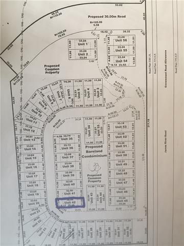 This lot is in a new gated community just north of Sundre off of the James River Road. Be in on the start of this amazingly designed community. No age restrictions. The photo is an artist's rendering of one of the duplexes to be built in the community by the developer. There are choices for your lots or builders homes at this early stage.