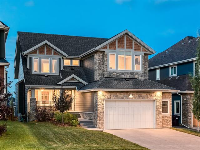 IMMACULATE HOME w/OVER 4159 sq ft of DEVELOPED LIVING SPACE in the GORGEOUS community of ASPEN WOODS! AMAZING FEATURES include PROFESSIONAL FINISHING THRU-OUT, HARDY PLANK SIDING, O-SIZED GARAGE w/ROOM FOR YOUR TOYS, 2 FURNACES, VAULTED + 9' KNOCKDOWN Ceilings, BEAUTIFUL Lighting Fixtures, H/W floors + WALK-OUT BSMT! Foyer w/VAULTED ceilings + W.I.C, 2 pc Bath, GREAT Office, BRIGHT Living rm w/GAS FP + LOVELY wood/stone mantle, SPACIOUS Kitchen w/family style ISLAND, QUARTZ counter tops, GORGEOUS Grey Cabinetry, matching S.S appl, BIG B-fast nook w/Deck access, Butler's Pantry w/TONS more cabinet + pantry space + add'l LARGE Dining rm! Upstairs feat Bonus rm w/LOFTED ceiling, CONVENIENT Laundry, 4 pc Family bath, 3 Bdrm's incl LUXURIOUS Master w/SITTING AREA + CATHEDRAL CEILING, 5 pc en-suite w/GORGEOUS DETAILS, SOAKER TUB, GLASS Stand Up Shwr, DUAL SINKS + W.I.C. FULLY FINISHED WALK-OUT Bsmt w/HUGE Rec rm, add'l Bdrm + 4 pc bath. B-yard incl Deck for ENTERTAINING w/GLASS PANELING + PATIO! COME SEE TODAY!