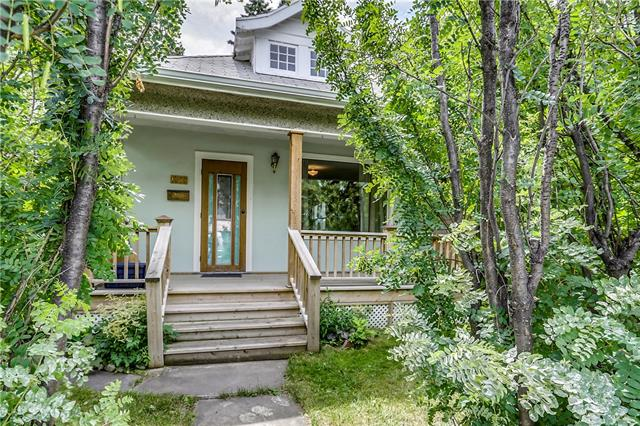 Charming 1912 bungalow in Capitol Hill. 2 bedrooms, 1 bathroom, living room, kitchen and a large mud/flex room are located on the main floor. Tons of character here with the original hardwood flooring and a clawfoot bathtub. The basement has a side entrance, laundry area, 2nd bathroom and lots of additional space. Private south facing yard with mature trees, a single detached garage and an additional outdoor parking spot with alley access. Updates include 100 amp electrical service, upgraded insulation in the walls and attic, a mid-efficiency furnace and the main sewer line was replaced from under the basement floor to the street. Conveniently located close to main transit routes, Downtown, Kensington, SAIT and the U of C.