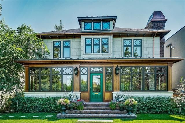 *OPEN HOUSE Sat/Sun August 11/12, 2-4:30* WOW! Get ready to be dazzled by Elboya's original farmhouse on a spectacular 50 ft lot! This exceptional home has been masterfully restored to maintain the Victorian charm of its time. From the curb, custom windows, stone tile, copper eaves and downspouts, tumbled brick chimney/stairway, metal interlocking roof, front verandah with removable windows and custom woodwork are sure to impress. Once inside, the traditional centre hall plan provides over 2900 sq. ft of living space where modern convenience meets classic design; a perfect combination for both formal entertaining and comfortable family living. The main floor boasts a spacious chef's kitchen with ample cabinetry and counter space; adjoining family room with beamed ceiling and wood burning fireplace; and custom woodwork throughout. Upstairs offers 4 bedrooms and an amazing loft on the 3rd level. Beautiful, private sunny south-facing backyard with established landscaping front and back. Don't miss this gem!