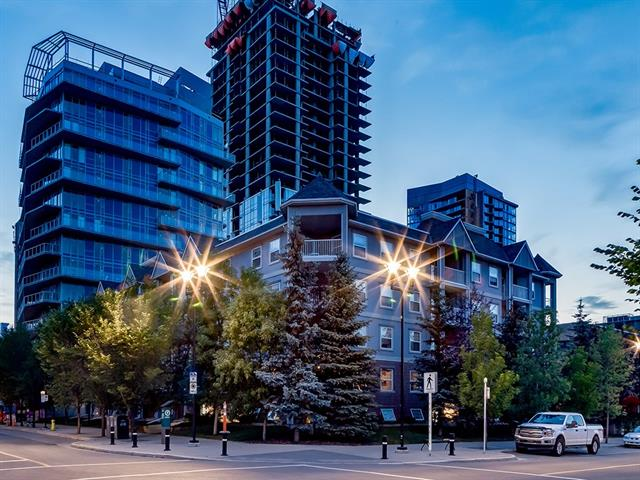 INCREDIBLE VALUE FOR YOUR DOLLAR! IF YOU WORK DOWNTOWN YOU HAVE TO CHECK THIS CONDO OUT!!! AMAZING Location SO CLOSE to EVERYTHING, INCLUDING ONLY a 10 MIN WALK to the C-TRAIN, the BEST RESTAURANTS, SHOPPING, the BOW RIVER (STUNNING VIEWS + PARKS INCLUDING a COMMUNITY GARDEN!), the TRENDY AREA of INGLEWOOD (MORE SHOPPING + RESTAURANTS), MEMORIAL DRIVE + MACLEOD TRAIL, w/OVER 557 sq ft of DEVELOPED LIVING SPACE + FEATURES like an UNDERGROUND PARKING STALL, BIKE Storage, IN-SUITE LAUNDRY + SO MUCH INCLUDED IN CONDO FEES (GAS, ELECTRICITY, WATER + MORE)!!! Entrance w/WELCOMING Warm toned flooring, LARGE Storage area (could be used as OFFICE SPACE instead!), BRIGHT Kitchen w/LOVELY WHITE cabinetry, MATCHING White Appliances + TIERED Breakfast nook, OPEN Dining area, Living room w/DOOR to Balcony, SPACIOUS bedroom w/LARGE window, 4 pc Bathroom, CONVENIENT in-suite Laundry room + GOOD-SIZED Balcony! DOWNTOWN CONDOS LIKE THIS AT THIS PRICE DON'T COME AROUND OFTEN!!! BOOK YOUR SHOWING TODAY!
