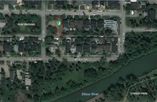 Fantastic location in the heart of prestigious East Elbow Park, 1 door from the central playground This 50 x 125' lot is perfect to build your dream home. Wonderful sunny south rear yard. The lot has already been cleared so the buyer will avoid the costs of asbestos remediation, demolition and removal of structure and foundation. No sidewalks on the front of this lot.
