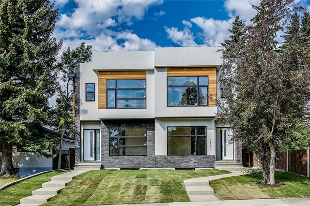 OPEN HOUSE: July 29th 12-2pm! Come see this wonderfully designed 4 bedroom & 3.5 bathroom 2 storey with all the upgrades on the popular street of Kinsale Road in Killarney! Main floor highlights include 10 ft. painted ceilings with pot lighting & built-in speakers, white oak engineered hardwood floors, quartz counter tops, Jenn-Air appliances with wall mount oven & 5 burner gas cooktop, stylish ledge stone gas fireplace in the living room & a mudroom at the back with built-ins. Follow the open riser staircase to the second floor where the hardwood & upgrades continue throughout. The master bedroom offers a large walk-in closet with custom built-ins as well as a spa like ensuite featuring a deep free-standing soaker tub, his & her sinks and an oversized steam shower with dual rain shower heads, body jets & a large bench seat. The lower level has radiant infloor heating and is the ultimate man cave with a 7.1 surround sound home theatre wired in, a wet bar with custom wine rack display & beverage fridge.