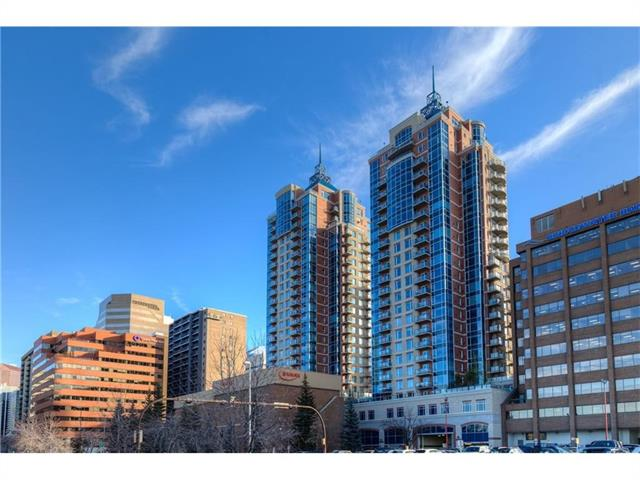 Beautifully maintanined one bedroom condo in a classy building that is in the heart of the downtown district and close to so many amenities and services, running paths along the river, parks, and Eau Claire Market. This unit shows like new - central A/C, open floor plan, SOARING floor to ceiling windows in living room and bedroom. Upgrades include CUSTOM window coverings, stainless steel appliances, HARDWOOD flooring, and GRANITE in KITCHEN and BATHROOM. Large living room has fireplace, bedroom with a cheater door to the bathroom, plus insuite laundry. A very bright and airy SE corner unit. Five West is a very well managed condo building with solid management and concierge service, Rec/Party room with outdoor patio, beautiful lobby and even a car wash in the underground parking garage. This condo is perfect for a single professional, revenue property, or couple wanting to be in the trendy downtown Eau Claire district.