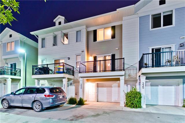 **OPEN HOUSE Saturday 13th Oct 01:00 pm - 03:00 pm**. **The whole unit is Freshly painted**. Immediate possession is available. This 2 bed 2.5 bath townhouse offers a Sunny SOUTH deck overlooking the shopping mall. As soon as you enter the property you will find a lower level Den/Office along with a 2 pc washroom. The main floor offers 9' Ceiling, modern kitchen which offers GRANITE Countertop, Stainless Steel Appliances and an open view from the dining room. The upper floor offers laundry room along with 2 good size bedrooms, the master bedroom offers 4 piece ensuite which offers granite counter (The common washroom also offers granite counter). The location of this townhouse is perfect, you will appreciate living close to shopping mall, transit stops, pathways, ponds and the list goes on. Call your favourite agent now to book a private viewing before it's gone