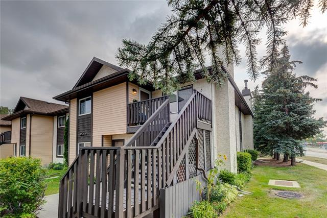 BEST VALUE in the complex !! Bike to the reservoir for fresh air each morning, this spacious 2 bdrm 1.5 bath townhome w/ heated & secure parking is located in the desirable community of Cedarbrae. A south exp. top floor unit & boasts loads of natural light. BBQ on your southwest balcony to enjoy the last of summer. Turnkey & ready for you to make your own, the updates thru out are contemporary. The freshly painted walls will have you at ease offering the perfect canvas for your personal art collection thru out. The seamless laminate flooring w/ new baseboards flows into each space complimenting the modern updates. Indulge your chef-inspired dreams in your clean, functional, & updated kitchen w/ white cabinets, QUARTZ counters, SS matching appl., fresh backsplash, & new lighting. Your dinner parties are complete w/ a dining area that is open to the kitchen/living rm & the ambiance of a wood burning f/p will captivate each guest. The master bdrm comes w/ its own ensuite & YES, will fit your king size bed...