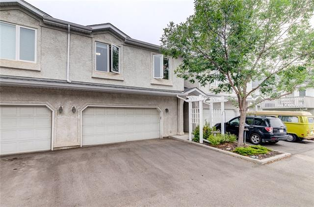 A fantastic executive townhouse located in the beautiful lake community of Sundance and it has Lake access. Centrally located this home is walking distance to the lake, schools and minutes? drive to shopping, the LRT and Fish Creek park. This home features over 2200 Sq. Ft. of living space. The main floor offers 9 ft ceilings, a formal dining area, huge living room with gas fire place and views out to the private inner park. The bright open kitchen has plenty of counter space, hardwood floors and an eating area with access to your own private deck. The next level up features two bedrooms one with an ensuite. The is also a 2pcs half bath and laundry room. The third level is the large master bedroom retreat with 4 pcs ensuite and walk closet. The lower level has a great family/media room, 4th bedroom and another 4pcs bath. This home includes a 2-car attached garage and driveway allowing you to park up to four cars. This could be your next home base that allows you to travel and not worry about the yard work