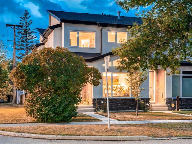 Over 1881 sq ft of AMAZING developed living space in this MODERN + STYLISH home in TRENDY + HISTORICAL INGLEWOOD, w/BARS, CAFES, SHOPS + CLOSE to DOWNTOWN! FUNCTIONAL + OPEN CONCEPT floor plan w/lots of BUILT-INS, EXTRA storage + the MOST STUNNING UPGRADES inc 9 ft + VAULTED ceilings, GORGEOUS HARDWOOD, STUNNING central staircase w/METAL + WOOD railings + DOUBLE O/S GARAGE W/an O/S DOOR! Front entry leads to living rm + central dining rm w/STRIKING DUAL SIDED GAS F/P! GORGEOUS kitchen has FANTASTIC GRANITE island, GAS stove + built-in MICROWAVE and WALL OVENS, SS appls, TILE backsplash + DARK cabinets. Kitchen overlooks the WEST back yard + has powder rm + MUD rm w/BUILT-IN storage + bench at the side door. Upstairs the BEAUTIFUL Master suite has FANTASTIC WALK-IN closet + STUNNING EN-SUITE w/HUGE GLASS STEAM shower, double vanity + MODERN SOAKER TUB! Upper laundry, 2 GREAT sized bedrooms + family bathroom complete upstairs. The undeveloped basement awaits your finishing touches! Book your showing today!