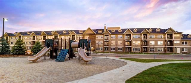 Move in today at Origins Cranston built by award winning multi-family builder Streetside Developments! Condo living designed with You in mind! This 2 bedroom condo has 922 sqft of thoughtfully designed living space at an unbeatable price, you have a unique opportunity to own in the well-established community of Cranston with all it?s wonderful amenities! Enjoy close proximity to schools, parks, coffee shops, and Sobey?s just a few minutes? walkaway & close access to Fish Creek Park. No lengthy possessions, no endless construction - just exquisite value! Some of the beautiful features include quartz countertops, stainless steel appliances, 9? ceilings, luxury vinyl plank flooring, shaker cabinets, in-suite laundry, large balconies, separate storage, & the list goes on. This contemporary condo truly does have it all and was built with you in mind. Experience exceptional quality, service and warranty, by the award winning Streetside Developments, a Qualico company.
