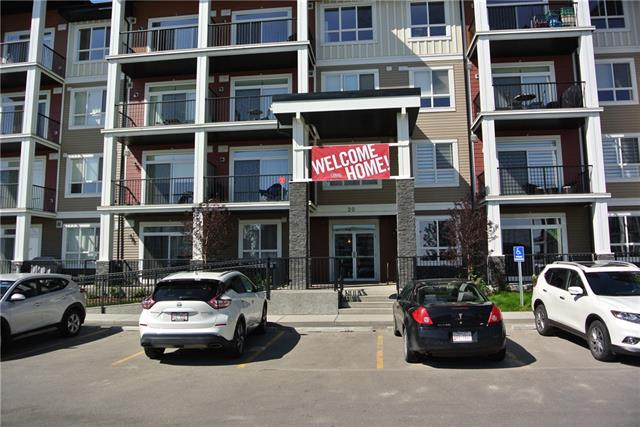 Welcome Home, this is a great opportunity to move into a Brand New never lived in 2-Bedroom ,2 Bath Apartment Condo. This is a corner unit on the third floor with views of the mountains. There is a massive wrap around deck with full privacy from neighboring units. There are significant upgrades to this unit including Vinyl Plank Flooring, Porcelain tile, Kitchen Cabinets, Ceiling Fans, Light Fixtures and Bathrooms. Underground titled parking space close to one of two elevators for easy access to your unit. Close to all amenities and easy access to McLeod Trail. Book your showing today!!!