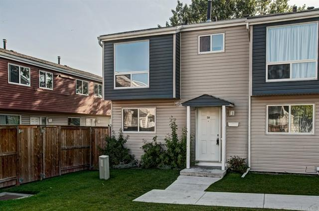 Welcome home to one of the most sought after homes in the complex. This end unit is backing onto the recreational park, green space and school. The entire unit has just been repainted and refinished (floors). Excellent floor plan in this 3 bedroom home with 1.5 bathrooms and unobstructed east views off the main and 2nd floors. There has been a total renovation to the exteriors and common area?siding, shingles, windows, fences, steps, sidewalks, playground, landscaping and underground watering system. The basement is ready for your specific development. Please call your Realtor today and see #50, 5423 Penbrooke Cresc. SE.