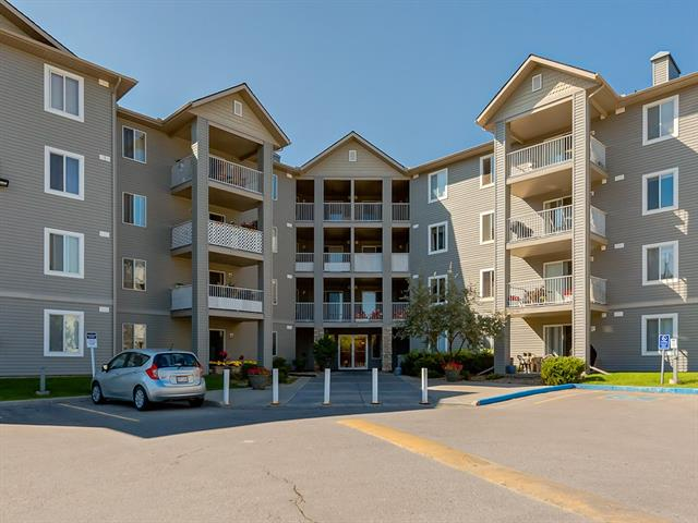 Welcome to Unit 1207 of the Ironhorse Condominiums in Luxtone, Airdrie! This lovely 2-BEDROOM UNIT features a SOUTH WEST balcony, boasting an abundance of SUNSHINE throughout the living area and kitchen. Numerous changes to the unit include NEWER CARPET, as well as FRESH PAINT. IN-SUITE LAUNDRY and a FIREPLACE are additional features to the unit. The Ironhorse Condominium has had numerous upgrades including a NEW ASPHALT SHINGLES and SIDING re-done to the whole complex. ELECTRICITY included in the condominium fees. Close-by amenities including schools, transit and shopping. Book a showing today!