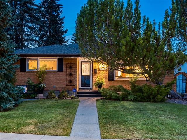WELCOME to this OASIS IN THE CITY w/over 2184 sq ft of DEVELOPED LIVING SPACE + INCREDIBLE UPGRADES + UPDATES - STUNNING LANDSCAPING, BRAND NEW roof (2018), NEW WINDOWS (2017) + TONS MORE to see!!! WELCOMING entrance w/EPOXY STONE floor, OPEN CONCEPT Living/Dining rm w/GORGEOUS h/w floors, Kitchen w/WONDERFUL updates like STONE + tile in b-fast nook/dining area, MORE EYE-CATCHING EPOXY STONE floors, HUGE windows over sink + GREAT MODERN cabinetry, 3 pc TOTALLY UPDATED main bath w/IN-FLOOR HEAT, HEATED TOWEL rack + RAINFALL shwr + 3 Bdrm's incl SPACIOUS Master. Bsmt w/FUNCTIONAL under-stair storage w/B/I shelving, HUGE 4th Bdrm w/LARGE closet, BIG Rec rm w/TASTEFUL Brick detailing, add'l AMAZING UPDATED 4 pc Bath w/JETTED Tub, IN-FLOOR HEAT, Stand Up Shwr + TONS of LOVELY DETAILS + Laundry rm. SHOW-STOPPING B-yard, PERFECT for ENTERTAINING w/MATURE trees, Pergolas, EXTENDED patio + O-SIZED detached DOUBLE GARAGE + RV PARKING PAD. AMAZING location SO CLOSE to C-TRAIN, SHOPPING + RESTAURANTS! COME SEE TODAY!