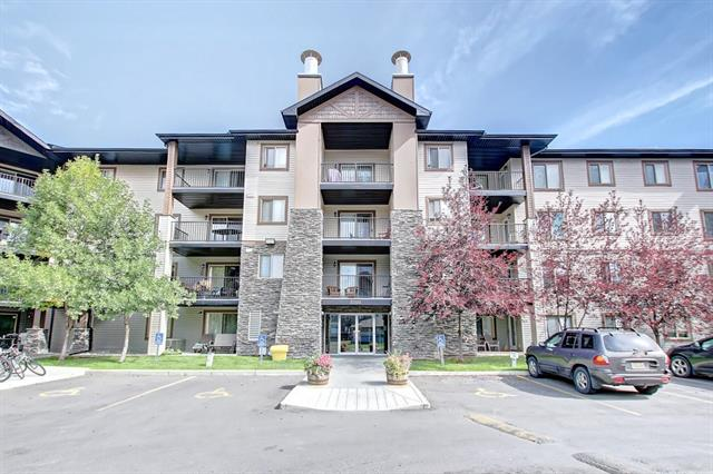 Welcome to Bridlewood community! This condo is perfect for a First Time Buyer, Young Family or Investor! 2 bedroom unit with open concept main living area. Kitchen has lots of cabinet and is right next to the dining area. Living room is complimented by natural light and gives access to the balcony. Both bedrooms offer lots of space. This unit is complete with insuite laundry, a 4 pc bath a 1 titled parking stall in the underground heated garage! Lots of amenities nearby... transit, schools, shopping, dining and more! A must see!