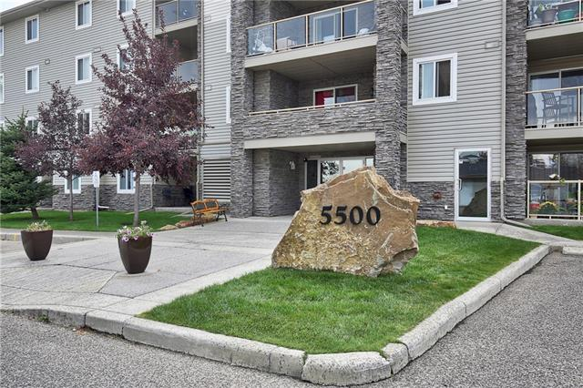 Looking for your next great home in the great community of SOMERSET! The location of this is second to none.  The C-Train is within walking distance as well as all your local stores and amenities!  This CORNER unit situated on the 2nd floor has a great outlook with an OVERSIZED balcony (163') with additional STORAGE (15').  TWO BEDROOMS AND TWO 4 PIECE BATHROOMS!!! You will love the layout of this unit having the bedrooms at opposite ends.  This large bright unit has a DINING AREA, a LIVING room and a KITCHEN with plenty of counter space.  The great size MASTER has plenty of room for all your furniture, a walk through CLOSET and a 4 piece ensuite!  The second BEDROOM (another good size) has the second BATHROOM just outside the door.  Another great plus for this unit is the HUGE STORAGE area conveniently situated near the front door.  With IN SUITE LAUNDRY and a TITLED underground parking stall, this unit will definitely not disappoint.  This home will check so many of your boxes!