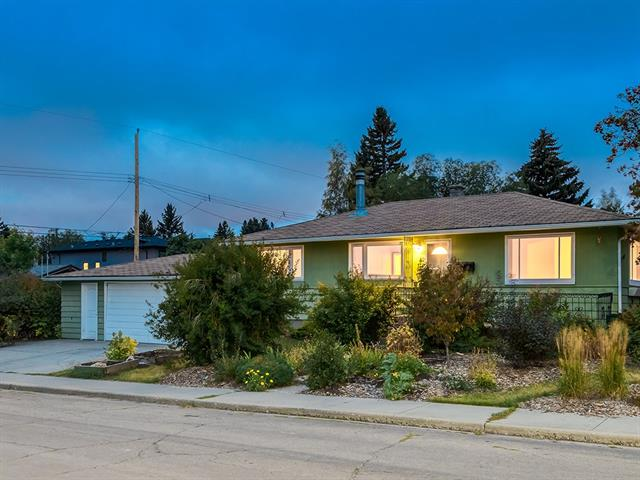 BUILDER/INVESTOR ALERT!! DEVELOP, RENOVATE ? or even build a Infill + a GARAGE SUITE!! Excellent location across from a GREENSPACE in the heart of Spruce Cliff, on a oversized RC2 lot w/ SOUTH backyard. This 3 bedroom bungalow is located on a quiet one-way street & is surrounded by NEW DEVELOPMENT. This home which sits on a corner lot offers many options including NEW DEVELOPMENT or a great reno project. It is in rentable condition so you can bring in money while getting development plans finalized, or buy now & watch your INVESTMENT grow! Close to all amenities including a 5 minute walk to Westbrook mall & C-Train station + only 10 min to DOWNTOWN. This home offers a oversized double garage w/ WORKSHOP, HARDWOOD floors, some new windows, upgraded electrical, nice sized kitchen w/ skylight, formal dining room, large living area, main floor laundry, 3 bedrooms up & side entrance to the basement. Sooo many options here! Call today to view!
