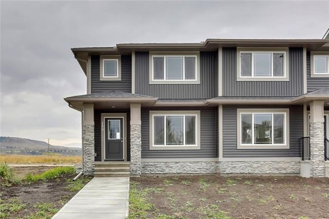 Welcome to 130 Heartland Blvd, Cochrane! Spectacular brand new home built by industry leader Pacesetter Homes Ltd. Beautifully finished 3-bedroom Greystone featuring 3 bedrooms upstairs. Master bedroom has 3 pc ensuite with stand up shower & large walk-in closet. 2 more bedrooms plus upper laundry complete the upper floor. The main floor features gleaming Laminate floors on the entire main floor. Enter the Foyer leading to huge great room, dining room and kitchen overlooking the sunny back yard from the window over the sink. Gorgeous open kitchen with dark Montalco cabinetry, quartz counter tops, and a large peninsula with flush eating bar and corner pantry. This home comes complete with a 1 year comprehensive - 7 year water protection ? 10 year structural warranty as standard.Book your appointment today!