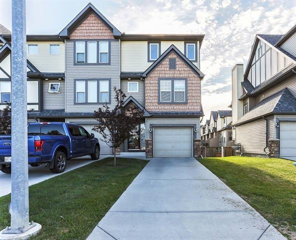 This upgraded walk-out end unit is available for immediate possession. Backing the pond with a huge fenced yard & new deck, this unit also faces greenspace & a park. It will be hard to find a better location in this price point. As you drive up notice the attached garage & extra long driveway. This will give you parking for 3 vehicles. Inside has been professionally cleaned & it is move in ready. As you enter notice the newer window coverings throughout, including blackout blinds. The kitchen has upgraded granite, backsplash, sink, faucet, tile floor & steam clean oven. All 3 bathrooms have updates & the majority of the home has been repainted. There is a new hot water tank, water softener, humidifier, central vacuum (including a clever toe kick in the kitchen) & to help you stay organized the garage shelving will stay. An added bonus is the LED light bulbs throughout & pullout organizers in the island. The upper loft has potential to become the 3rd bedroom. This home is a home to view in person.