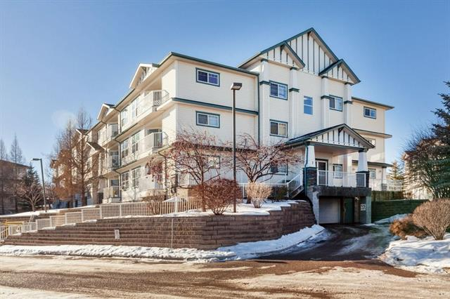 This apartment is in pristine condition and conveniently located on the 2nd floor of the building with view to the green space. Walking distance to the LRT station, so you can hop on the train and quickly get to Downtown Calgary. Functional floor plan that features a bright living room with sliding doors to the balcony, dining room, kitchen with pantry, two good sized bedrooms with large windows, full bathroom and in-suite laundry room with storage area and shelvings. Professionally cleaned and move-in ready for quick possession. Very comfortable and secure 18+ building with affordable monthly condo fee that includes all utilities. The assigned underground heated parking adds to the value and enhances the convenience and enjoyment of this apartment. Very close to transportation, shopping centres, grocery stores, YMCA, public library, restaurants, theatre, waterpark, Fish Creek Park and so many other amenities. Pets are welcome subject to board approval & furniture is also available for sale if interested.