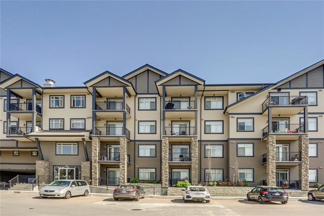 Welcome to Copperfield! This unit is in immaculate condition and features HEATED UNDERGROUND PARKING and full storage locker located on the same floor as the unit. The open concept layout boasts kitchen with stainless steel appliances, plenty of counter and cabinet space and an eating bar. The bright and great sized living room leads out onto the private balcony. The spacious bedroom can fit a king size bed and has ample closet space. A large den with closet, a full 4-piece bathroom and in-suite laundry complete this wonderful home. This unit offer tremendous value and is truly ?move in ready?.  Call today for your viewing!