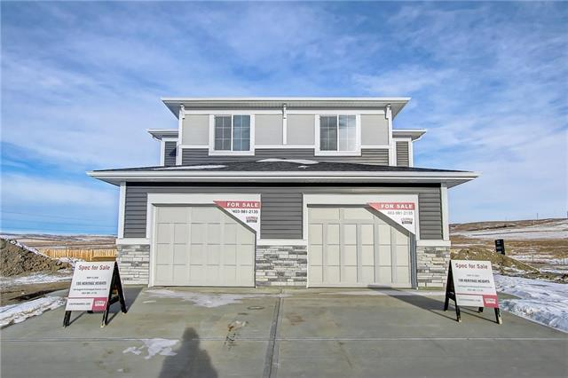 New build attached home by Stepper Homes. Single attached garage. Beautiful open floor plan, galley kitchen with granite counter tops, pantry, great room, deck off dining room. Half bath on main floor. Neutral color palette. The upper floor features a 4pc bath, laundry, and 3 good size bedrooms. The master bedroom offers a ensuite bathroom and walk in closet. The lower level is awaiting your development ideas. Close to a park. Ready for immediate possession.