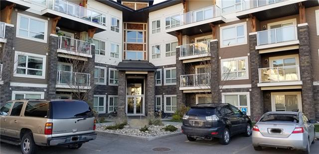 Gorgeous top floor unit. This is a spacious 2 bedroom 2 bathroom one owner condo. Featuring cork and carpet flooring with ceramic tile in the bathrooms, granite tops in the kitchen and bathrooms, stainless steel appliances and insuite laundry. Underground titled parking stall and an assigned storage cage in the parkade. Close to Apostles of Jesus School and a new Elementary/Middle School, Calgary Board of Education (CBE), Grades K-9 has been approved to be built in the next 4-5 years.
