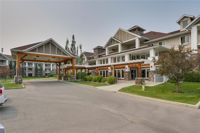 OPEN HOUSE: DEC 9TH, 1:00-3:30PM!! AMAZING complex in a great LOCATION of Chaparral! Come check out this TOP floor unit with views of the mountains from your private balcony! This two bedroom, two bathroom unit is very spacious! The Master bedroom has a walk through closet into your own private en-suite.  Also with this unit you will not have to worry about storage! The Laundry room is very large and has plenty of storage space! The building is very well maintained and managed and always has daily activities.  You have access to a fitness facility, library and club house.  If that is not enough, you also have access to the LAKE!!  Call and book a showing TODAY!!