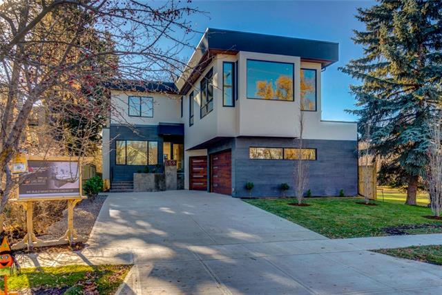 Understated elegance & sophistication describe this one of a kind estate home perfectly located directly on the banks of the Elbow River in East Elbow Park. Make no sacrifices! Over 6,500 Total SF (4700 above grade) of automated living space will WOW you as you are welcomed by a feature wall that seamlessly transitions the outdoors indoors. The open concept fully custom walnut kitchen & living spaces makes for easy living as you take advantage of a wall of accordion door windows taking advantage of the river views & amazing Walnut wood - T island that is to die for. White Oak hardwood & designer tile seamlessly transitions between mud-room w/lockers & butler pantry & private office on the main. Upstairs offers total of 4 BR each with ensuites & WIC, upstairs laundry & BONUS room. The master retreat with river view will blow your mind with 9 pc ensuite & HIS/HER closets like you?ve never seen! The basement has a 5th bedroom w/ensuite, theatre room with 120? screen, wine cellar, Fitness & Rec room!