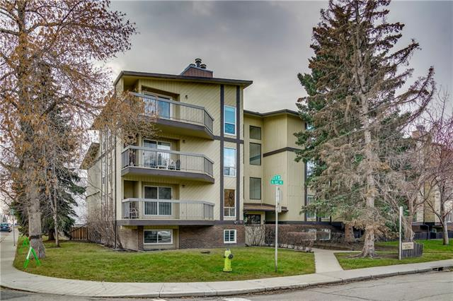This bright 2 bed unit is in a quiet location in popular Crescent Heights. The location is ideally located within walking distance to downtown, trendy restaurants, transit and shopping. Enjoy the spacious layout with an open concept dining/kitchen/living room that feature new appliances, beautiful new laminate hardwood, freshly painted and a large balcony perfect to enjoy the summer evenings. The master Bedroom is spacious with a large closet and new carpet. There is also a second bedroom with new carpet, a large family bath with new flooring and a convenient in-suite laundry that make this the perfect layout. Other amenities include assigned parking, bike storage, sauna and a large storage unit. This large two bedroom inner city condo is ready to move in and enjoy!