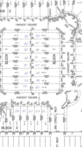 Fully serviced lot available in the growing town of Claresholm. Located on the North end of town surrounded by newly built homes. Harvest Square is making a presence in the town so now is the time to purchase. Easy access to highway, shopping and schools.