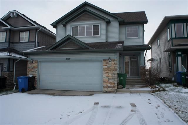 Backing on a green space and fully developed, welcome to this 2 storey family home in prestige Panorama Hills.  It features 9 feet main floor and basement, hardwood flooring, wood spindle railing on the stairs, main floor den with double French doors, granite countertop in the kitchen and washrooms, rounded corner, and stainless steel appliances.  It has 3 good size bedroom up, large master bedroom over look the green space, ensuite with jetted tub, separated shower, and double vanity sinks, large bonus room, main floor with large living room, gas fireplace with mantel, open kitchen, higher cabinets, spacious nook area, developed basement with 2 extra bedroom, full bathroom, and large recreation room with wet bar.  Also it has double attached garage and sunny deck.  It has been fully fenced and nicely landscaped.  It is walking distance to school, closes to public transit, playground, and shopping.  ** 1088 Panamount View NW **