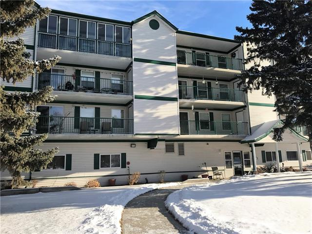 A NO NO LIFESTYLE!  No Fixing! No Yardwork! No snow shoveling means you have more time for the good things in life!  This spacious 2 bedroom condo on the Northwest corner is one of the largest in the complex!  Featuring great views of the mountains & Snake Hill and a wrap around balcony with 2 attached storage units!  Enjoy an open floor plan with fresh paint, upgraded kitchen cupboards and lots of natural lightening!  With 2 bedrooms, 2 full baths, and in house laundry.  You won't even think you are downsizing.  Take advantage of the many benefits of this friendly home offers including socializing with your neighbors in the games room or potlucks in the community kitchen!  Underground heated parking makes winters safer!  So toss the lawnmover, keep the golf clubs and come enjoy a leisurely retirement lifestyle!