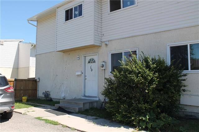 This is an excellent opportunity for the 1st time home buyer, or investor. With very low condo fees, this end townhome features 3 spacious bedrooms upstairs along with a 4 piece bth. The main floor has a good sized Galley style kitchen with eat in area, good natural light as well as a 2pice bth. The open living room has laminate floors and sliding patio doors out to your own private deck. Fully finished basement has a very large rec room, as well as a huge storage area that provides excellent storage and space for some of your own creativity. Cute little condo with low condo fee's. Very close to the bus stop, C-Train, downtown, and shopping centers. This property will not last long so book you appointment today.