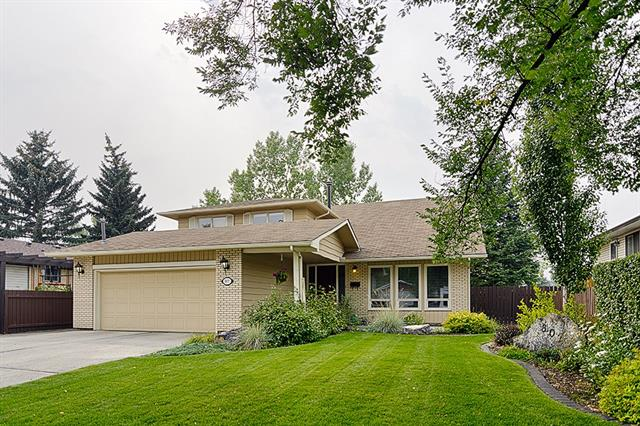 New 40 year roof and eaves trough in September 2018, H20 tank in October 2017, triple pane low e windows, and furnaces that were done in 2000 and are in great shape. This family home has been well maintained with 2742 above grade square feet, 4 above grade bedrooms and a den on the top floor overlooking the living room. Walking distance to transit, elementary, day care, will have excellent access to the ring road when complete, Fish Creek down the way, and grocery store options close by. What more could you want?  Let me tell you. Twin central AC units, a parking pad on the side of the driveway that can fit a 23 foot motorhome, heated garage, low flush toilets, a cold room for food storage, and an upper deck redone a few years ago. The master was reconfigured in the 2000 renovation that designed 2 walk in/through closets to the 5 piece master ensuite bathroom. There is a huge amount of storage in the utility room. This house is perfect to grow into.