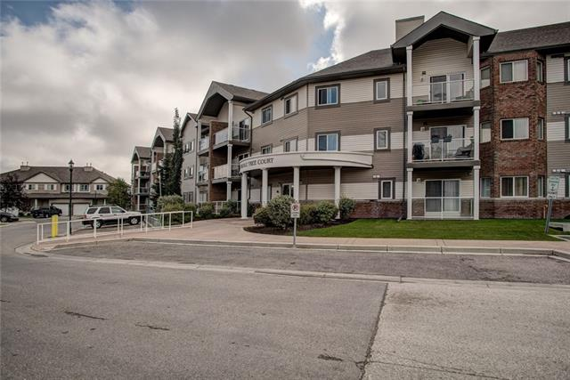 Introducing this bright and well kept 2nd floor unit that would be great for not just a first time home buyer! The building has an amazing location; close to transit stops for ease of travel, walking distance to the nearby school and playground, and is also a very short drive from Saddletowne Circle. As you step in, you find yourselves in the kitchen, which features tons of storage, and the in-suite laundry to your right. The unit features a bright and open living room where you can step through the sliding doors and on to the private balcony. Making our way down the hall we find the first spacious bedroom and a 4-pc bath as well as a second equally well sized bedroom complete with a walk-in closet and a 4-pc ensuite as well.