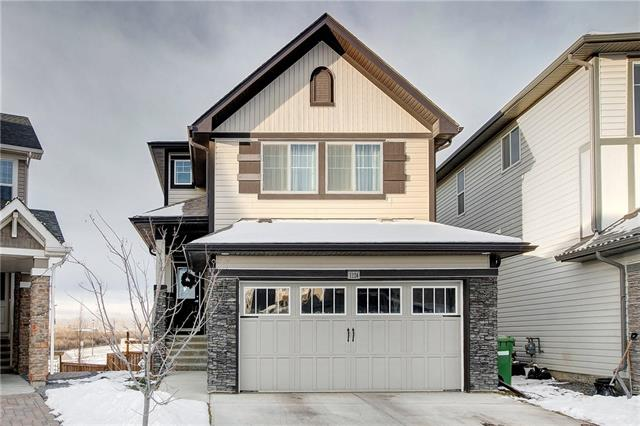 ***Open House Saturday Jan 19.19 between 12-2pm*** Beautiful walkout home is a great neighbourhood! This home shows 10 out of 10 and comes with many upgrades including cabinets to the ceiling along with quartz counter tops in the kitchen and a main floor with tiles and hardwood flooring throughout. The main floor also features nine ft ceilings, open floor plan and large windows. Upstairs you will find the master bedroom which boast a five pieces ensuite along with another two good size bedrooms and another full bath. To top it off, the second floor has a laundry room and a bonus/family room. The basement is fully finished and offer extra space to entertain. Other extras this home has to offer are hot tub and speakers wired throughout the house that can be controlled from your phone. This home is located on a pie shape lot which does provide you with extra yard space for you to enjoy and/or entertain. For a private showing of this beautiful home simply call your favourite agent!