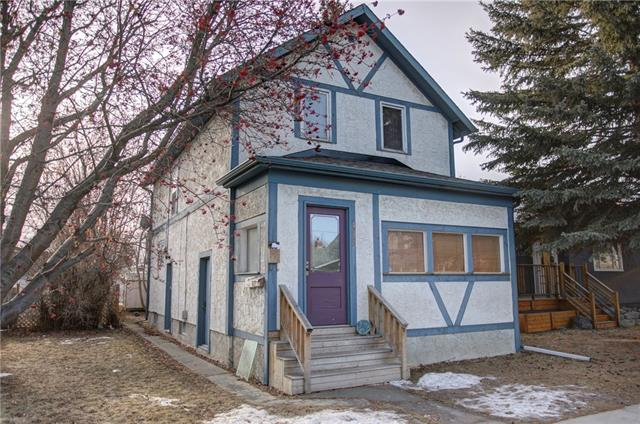 NEW PRICE.  This triplex features 3 separate entrances and 3 individual utilities. This character home has enjoyed the same owner for the last 15 years and is ready for its next owner. 2 vintage fireplaces ad character to this home that is hard to find. 2018 Rent Roll: basement $600, main $1000 and upper $800. Current owner lives on the main floor and can vacate in 30 days. It's conveniently located close to downtown as well as 10 blocks to SAIT. Enjoy all the amenities, shops and restaurants in the mount pleasant area and along 16th avenue. There's parking for 2 on 20th avenue and room for 2 more in the back yard. Each unit offers a complete separate entrance. The home features 2 furnaces and 2 hot water tanks. A shared central laundry is located in the basement utility room. With a 20% investment your mortgage payments are approximately $2133/mth. Contact myself to view this great money maker of a property today.