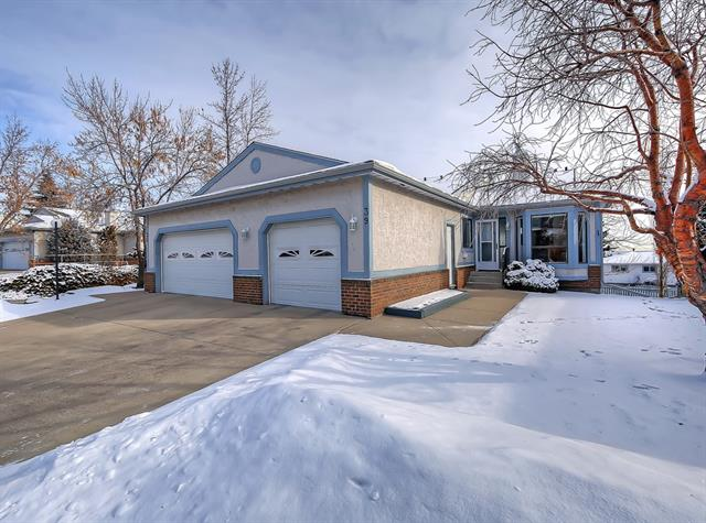 This well maintained 50+ Community is ready for you to call home. Conveniently located just a short drive from countless amenities. This property is perfect for a single person or a couple w plenty of room for friends and family to visit. The front entrance is private and once inside you are greeted by an over-sized living and dining area with gorgeous East facing views. To your right is the quaint eating nook with bay window and direct access to the clean bright kitchen. On this level you will also find the Master bedroom with double closets, a cheater ensuite with over-sized step-in shower, a laundry room, and 2nd bedroom with 2 pc ensuite. The lower level features a large walk-out basement with rec room, bedroom, another full bathroom and large storage room with built-in shelving, and bonus fridge and freezer. At 1250 sq ft on the main level and another 1180 in the basement, downsizing never looked so easy. Did I mention the Club House? Call your favourite Realtor and book your private showing today!