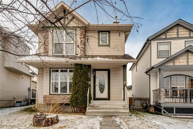 This charming home is located on the west side of Hidden Valley.It is located close to many children's parks, down the street from a bus stop and only a few minutes walk from all types of schools located in Hidden Valley. Catholic K-9, Public with French Immersion option K-9 also.The street is part of a quiet crescent.This 2 Storey home has a front living room perfect for entertaining.There is a large kitchen over looking a sunny eating nook and vaulted ceiling from the basement into the kitchen area allowing for you to overlook the family room in the basement.Upstairs there are 3 bedrooms including the master bedroom with a walk in closet & ensuite with a jetted tub.The other two bedrooms are spacious and there is a large full bathroom between the bedrooms.The partially developed basement has a corner fireplace, and is fully roughed in for another bathroom. A brand new 40 Gallon Hot Water tank was installed in November. There is a good sized yard complete with a single car detached garage.