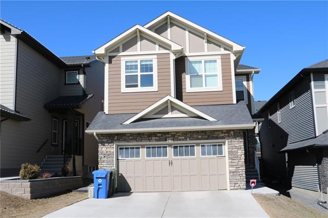 Original owners proudly present this upgraded & cental airconditioned 2 storey home w/ 5 bedrms & a den (6th bedrm?), 3.5 baths, fully finished basmt (w/ devt permits from the City of Calgary) & about 3,373 sq ft devd! Located just minutes to public transportation, shopping, restaurants & easy access to nearby major road arteries, this is the perfect home for a large or growing family. Upper level features a large bonus rm between the master bedrm & the other 3 bedrms for max privacy. The master suite comes w/ a 5 piece ensuite & walk-in closet. Also on this level is a walk-in linen closet & laundry rm. Main level is an open concept w/ a flex/living rm, guest bath, large mud rm, great rm & large kitchen w/ dark cabinetry, center island w/ granite counter top, walk-tru pantry & upgraded SS appliances. The finished basmt has the 5th bedrm, den, full bath & the utility rm w/ tons of storage space. Kincora is in the school district for Blessed Marie-Rose School (K-9)