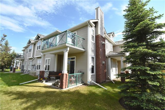 Open House, Sunday, June 16th 1pm-4pm!! Beautiful 2 bedroom, 2 FULL bathroom townhome in the desirable NW community of Hidden Valley.  Enjoy privacy in this top floor end unit with views of the pond and pathways.  Large open floor design with formal dining area, open kitchen with eating bar, vaulted ceiling and cozy fireplace.  The carpet and underlay in both bedrooms have been replaced, the wood laminate in living area is newer.  Hot water tank is only a few years old.  In-suite laundry, BBQ gas hook-up on balcony.  The large master bedroom has a walk-in closet and huge ensuite! The attached garage is oversized so that you can take advantage of all of the extra storage space or have a work bench.  Close to natural environment reserve, pathways, parks, shopping.  Call realtor today!