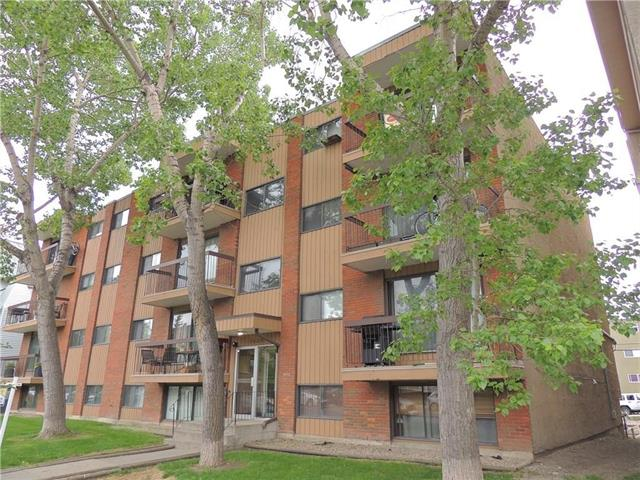 Affordable one bedroom apartment in the heart of Sunalta. Kings Manor has a fantastic belt line location, close to the new west line LRT or even walk into downtown. The unit faces south making it very bright and enjoy the large balcony. The unit has been updated with new carpet in the bedroom and living room. The unit is designed efficiently with a galley kitchen, a four piece bath and in-suite storage. There is a laundry room conveniently located in the building. This home is close proximity to walking and cycling paths along the bow river, two blocks from the Sunalta Community Association and parks. Affordable living or an ideal investment property in a quality inner-city location. Note: Unit 303 (mls# C4237140) and Unit 402 (mls# C4237138) also for sale in the building. Great opportunity to purchase all 3 units.