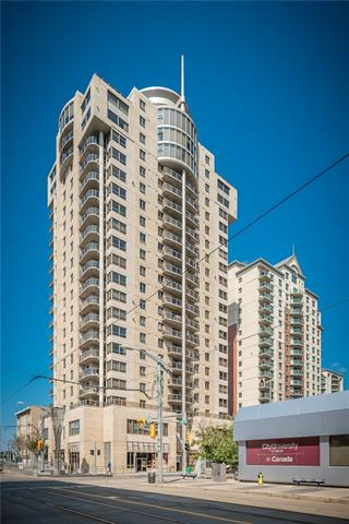 Best priced one bedroom unit in Downtown West End. Fantastic location! Steps to walking paths & Shaw Millennium Park. The C-Train Free Ride Zone is located right outside the Front Door. Vista West...this popular concrete high-rise just around the corner from the Kerby LRT station. On the 10th floor of this 22-storey air-conditioned building, this one bedroom unit features east facing windows and balcony with great downtown view, A/C, in suite laundry... Enjoy the great building amenities - a welcoming front lobby with waterfall feature, fully equipped fitness center, social room, guest parking, sauna/steam room, secured building in a great location! One title underground parking stall can be purchased separately for 32k!