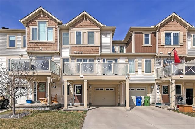 This modern townhome is located around the corner to schools, parks & amenities & best of all has NO CONDO FEES! W/ 2 beds, 2.5 baths & one of the LARGEST balconies in the complex, this unit shows like new & features fresh paint, NEW carpet & oversized windows throughout. The main floor features hwd flooring &  SOUTH-facing windows for gorgeous all-day sunshine. The modern kitchen has loads of storage, granite counters, S/S appliances, a built-in pantry & peninsula w/ eating bar. Sunny open-concept dining/living space w/ windows galore & direct access to South balcony which spans across the entire length of the home. Second floor features 2 LARGE beds including master w/ WIC & private 3-pc ensuite w/ modern vanity, granite countertops & tiled shower. 2nd bdrm has quick access to main 4-pc bath w/ large vanity & whirlpool tub/shower combo. Located in a great community w/ quick access to all amenities & plentiful outdoor pursuits just moments away. *See Realtor?s website for details*