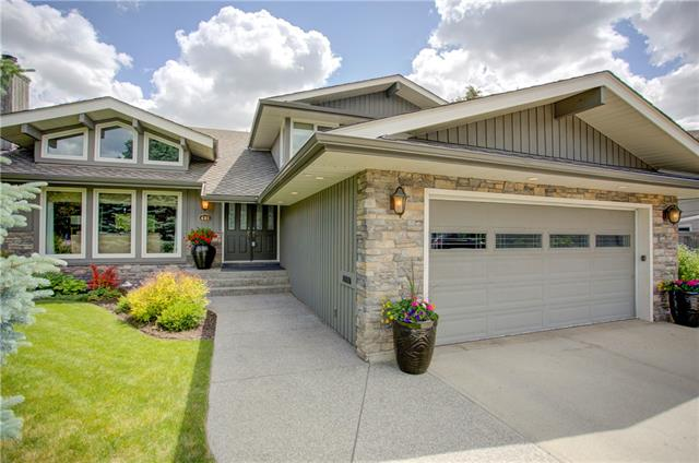 """Please click on """"Multimedia"""" for 3D tour. Welcome to a FULLY renovated 2 storey on a super quiet street in very desirable """"Lake Bonavista Estates""""! This amazing expanded """"Sandpiper"""" Keith built home features: large professionally landscaped pie lot, chef's kitchen with paneled fridge/water conditioner/5 burner gas stove/sit-up granite island/under mount lighting, vaulted ceilings, 3 fireplaces, large kids bedrooms, loft/bonus room, heated floors in all bathrooms, hardwood floors, large mudroom with center island, oversized/insulated double garage, all newer windows/newer roof/newer furnaces, ice cold A/C, U/G sprinklers, on demand hot water, exposed aggregate sidewalk/steps, large/mature trees makes for very private yard, flat ceilings & much more! Location is a home run - 1 block to greenspace/park, 4 blocks to LRT station, a short walk/drive to the lake entrance, VERY easy access to MacLeod Trail & Deerfoot and super close to all the great schools in Bonavista! TOTAL PRIDE IN OWNERSHIP & MOVE IN READY!"""