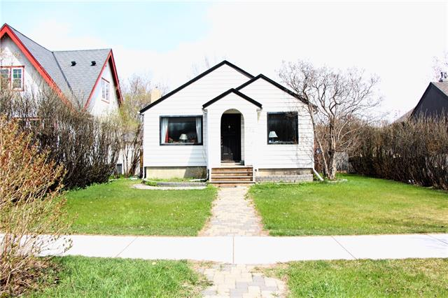 OPEN HOUSE Saturday July 7th @ 2:00-4:30 pm! This is your opportunity to reside in the highly sought-after community of Scarboro! Situated on a quiet, beautiful cul-de-sac is a cozy bungalow that is in close proximity to Royal Sunalta Park, tennis courts, Bow River pathways, LRT station, 17th Avenue, and the highly revered Sunalta School. A fully landscaped lot features a fenced-in yard with mature lilac trees, and a large deck. Interior has gorgeous hardwood floors that complement the bright, open floor plan. Main living area has 2 bedrooms with a 4 piece bath and an office or flex room at the front of the house. The fully developed basement has a spacious family room and an additional bedroom. Plenty of space throughout this vintage house. Renovate or build your own Dream Home on the 50 ft.wide lot in the desirable, well established neighborhood of Scarboro! Please check out the LIVE VIDEO of this lovely home in the Virtual Tour section!