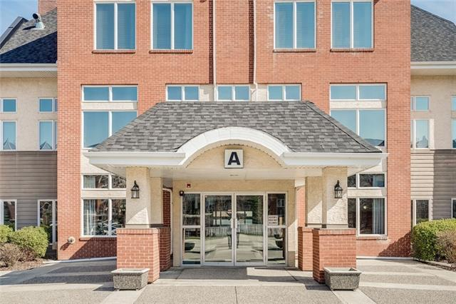 """Welcome to """"Sierras of Evergreen"""", an amazing 55+ complex with exceptional amenities. This ground floor unit has its own patio and one of the most convenient locations possible. Located in building ?A?, you won?t have to go far to enjoy all of the amenities including An In-Door Salt-Water Pool, Exercise And Games Room (Including Pool Tables, Shuffleboard Etc.), Social Room with full kitchen, Theater Room, Guest Suites For Overnight Visitors, Several Libraries, Workshop, Underground Heated Parking With Private Storage Locker #182. & Car Wash Bay. This unit is move in ready, New Washer/Dryer & Carpets. Don?t miss your opportunity to own this gem!"""